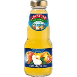 Lindauer Gold-Apfel-Direktsaft, klar